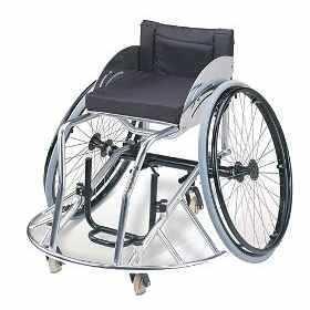 Basquet en silla de ruedas - Baloncesto silla de ruedas ...