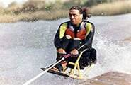 Carlos Breyaui - esquiando