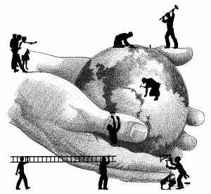 Resultado de imagen de construye el mundo